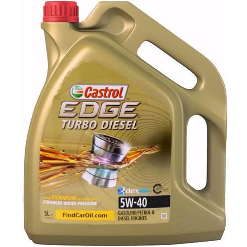 castrol edge 5w40 turbo diesel 5l olej silnikowy. Black Bedroom Furniture Sets. Home Design Ideas