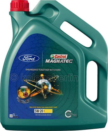 Castrol magnatec professional a5 5w30 5l olej silnikowy for What s the difference between 5w20 and 5w30 motor oil