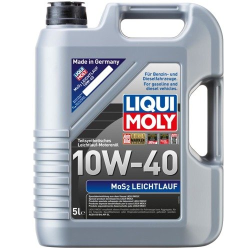 liqui moly mos2 leichtlauf 10w40 5l engine flush 300ml. Black Bedroom Furniture Sets. Home Design Ideas
