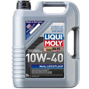 liqui moly mos2 leichtlauf 10w40 5l olej silnikowy. Black Bedroom Furniture Sets. Home Design Ideas
