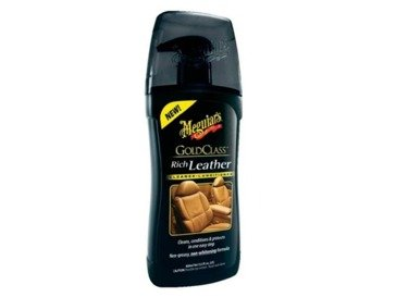 Meguiar's G17914 Gold Class Rich Leather Cleaner & Conditioner