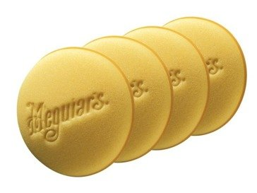 Meguiar's X3070B Soft Foam Applicator Pad (4-pack  bulk)
