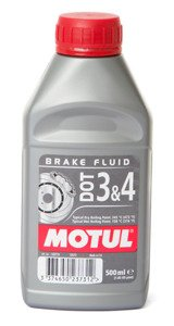 Motul DOT 3 & 4 Brake Fluid 500ml