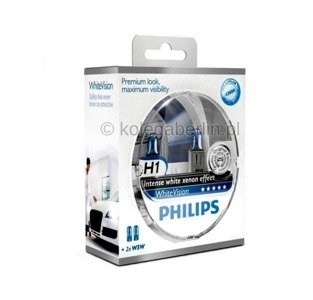 Philips H1 WhiteVision Set + 2x W5W