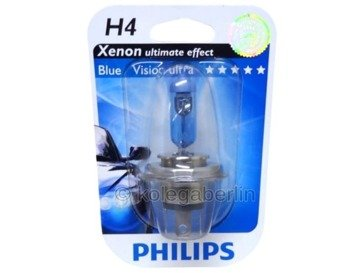 Philips H4 BlueVision Ultra