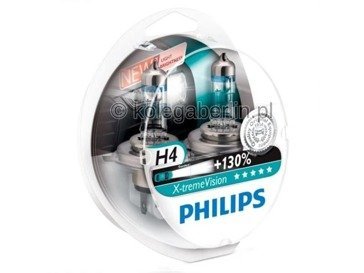Philips H4 X-treme Vision +130% Set