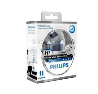 Philips H7 WhiteVision Set + 2x W5W