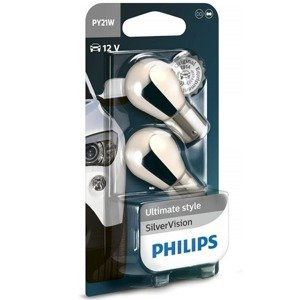 Philips PY21W Silver Vision Chrome