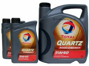 Total Quartz 9000 Energy 5W40 7L (5+2)