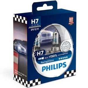 Philips H7 Racing Vision +150% Set