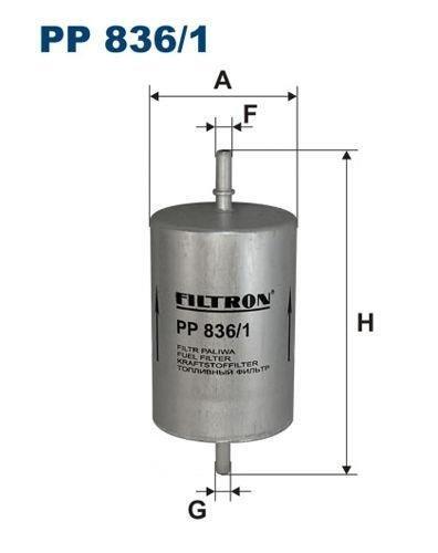 Filtr Paliwa Filtron Pp 8361