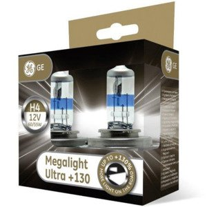 GE General Electric H4 MegaLight Ultra +130%