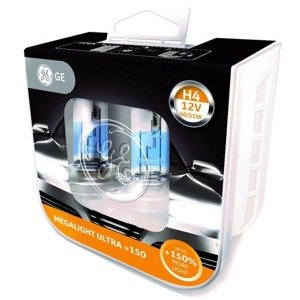 GE General Electric H4 MegaLight Ultra +150%