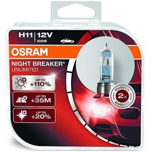 Osram H11 Night Breaker Unlimited Duo
