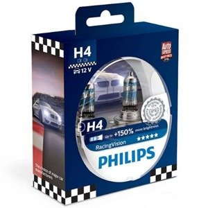 Philips H4 Racing Vision +150% Set
