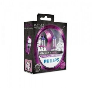 Philips H7 ColorVision purple - kolor fioletowy
